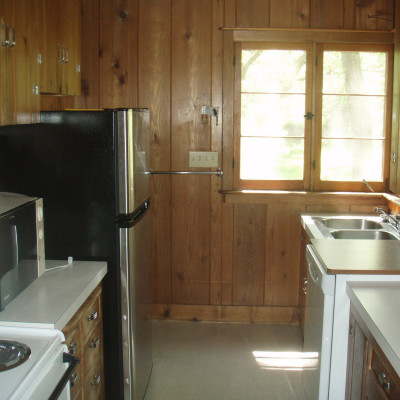 Cabin 69 Kitchen